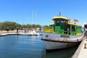 cronulla visit bundeena ferry