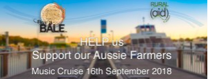 Cronulla Ferries support farmers buy a bale