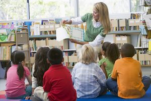 storytime in Cronulla library