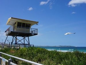 great views and safe beach at North Cronulla