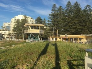 toilets and showers at North Cronulla beach