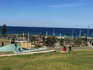 fantastic play area at Wanda Beach and Reserve