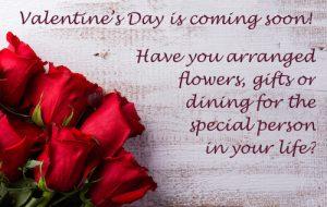 celebrate Valentine's Day in Cronulla