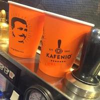 great coffee at Kafenio Cronulla
