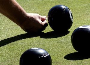 green bowling in Cronulla