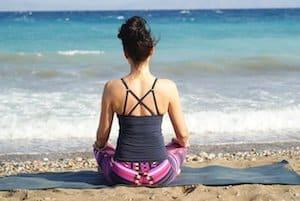 free meditation on Cronulla beach