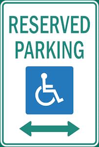 wheelchair parking in Cronulla
